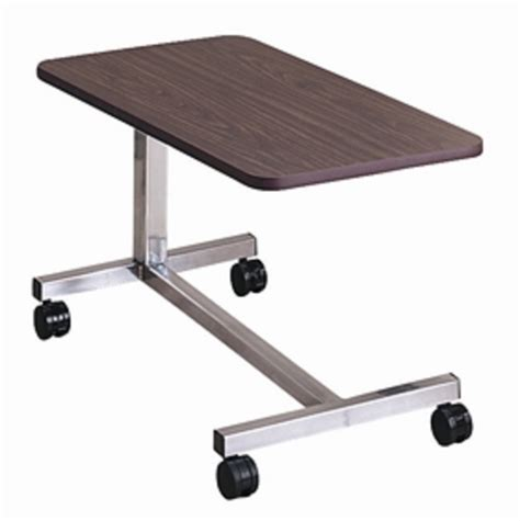 brewer height adjustable overbed table free shipping