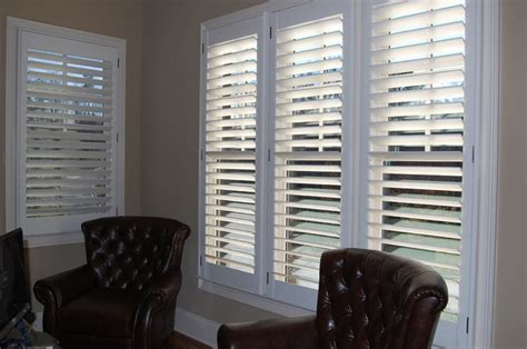 clearview plantation shutters traditional home office