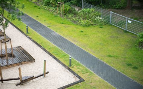 Rasengittersteine Kunststoff Befahrbar by Rasengitter Rasensteine Aus Recycling Kunststoff Rotec