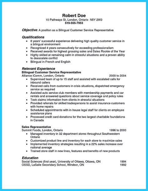 Bilingual Resume by Breathtaking Facts About Bilingual Resume You Must