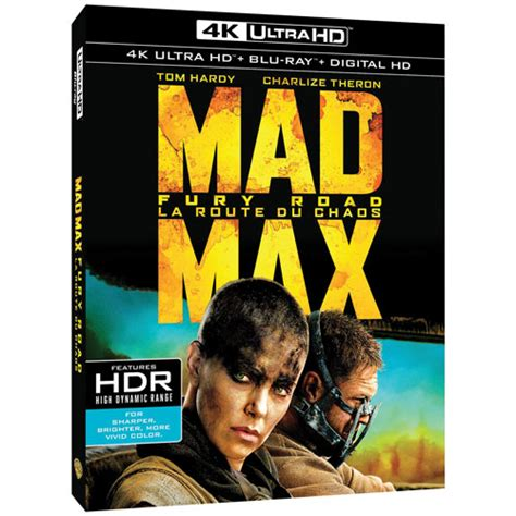 film blu ray 4k mad max fury road 4k ultra hd blu ray combo 2015