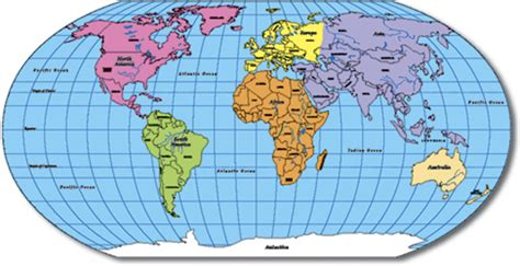 6 best images of printable world map not labeled