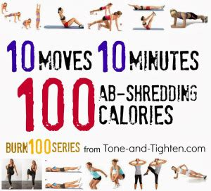 7 day total workout plan tone and tighten