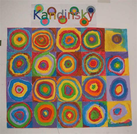 cuadros de kandinsky arte en la escuela cuadros con c 205 rculos conc 201 ntricos