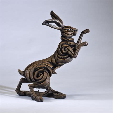 home sculptures hare by matt buckley of edge sculptures rennies gallery