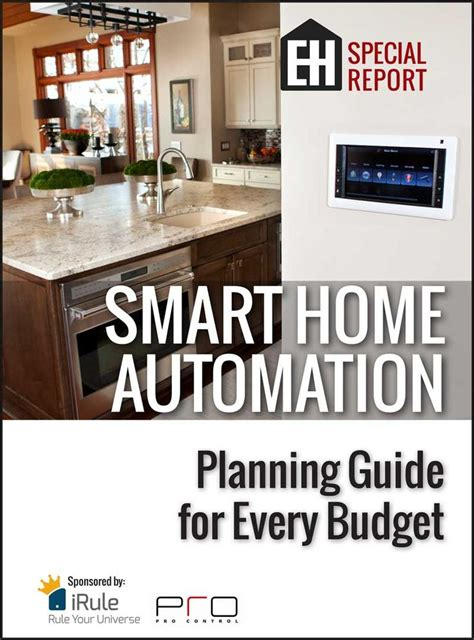 free report smart home automation planning guide for