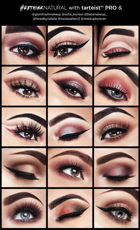 makeup tutorial tarte 16 best makeup tarte pro images on pinterest eye make