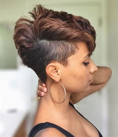 short hair cut with no relaxer beautiful cut by stylemefabsalon black hair information