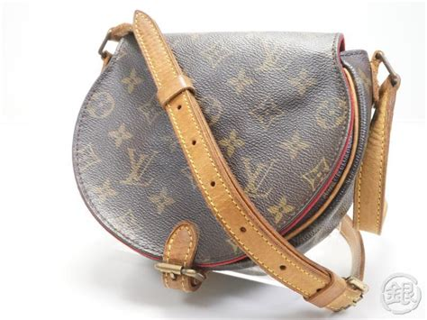sale auth pre owned louis vuitton lv monogram tambourine