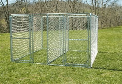 dog kennel sections tarter 6 x 10 welded kennel section 10wks by tarter gate