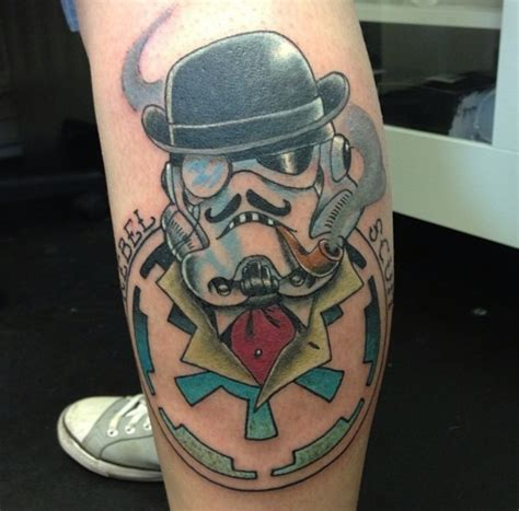 stormtrooper tattoo 20 wars stormtrooper leg tattoos