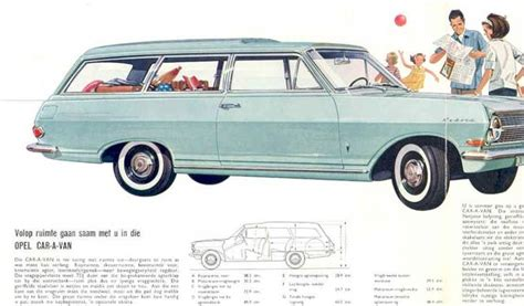 opel car 1965 opel caravan 1965