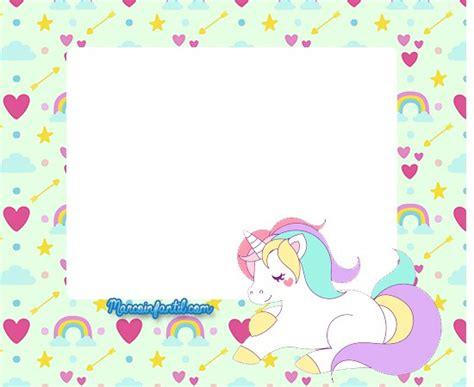 imagenes de unicornios para niñas marcos con unicornios marcos infantiles