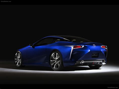 lexus lf lc blue lexus lf lc blue concept 2012 car pictures 06 of