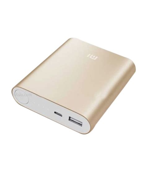 Powerbank Xiaomi 10400 Original xiaomi 10400 mah power bank gold buy xiaomi 10400 mah
