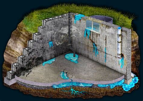 leaky basement signs direct waterproofing
