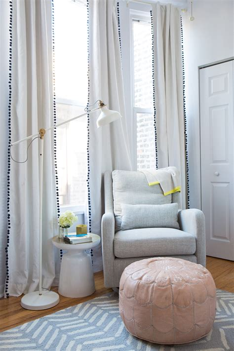 curtains for baby nursery our neutral nursery sequins stripes
