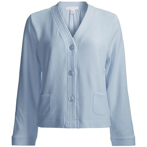 bed jacket carole hochman bed jacket long sleeve for women save 39