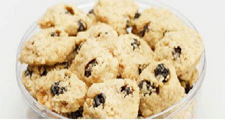 cara buat kue kering oatmeal resep kue kering oatmeal coklat yang enak daftar terbaru