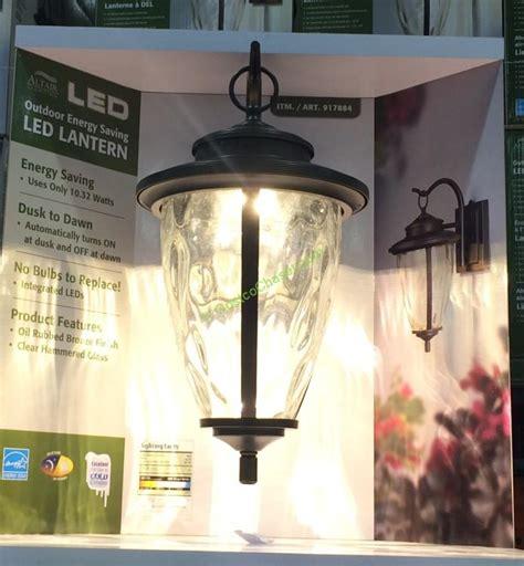 altair outdoor led coach light costco costco altair lighting lilianduval