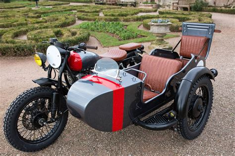 Bm Walaci Black kevil s speed shop four seater ural sidecar custom