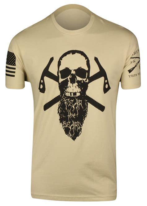 Tshirt Fear The Beard Logo Limited grunt style fear the beard ii t shirt black ebay