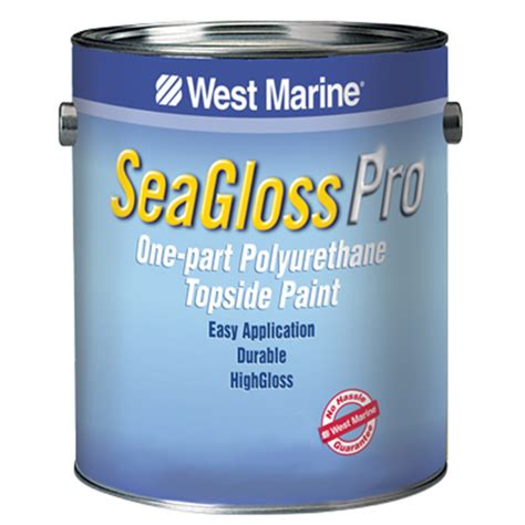 boat paint topside west marine seagloss pro one part polyurethane topside