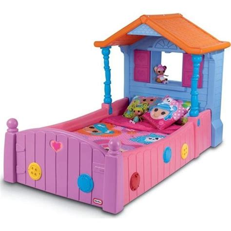 little tikes toddler bed little tikes lalaloopsy toddler kids single bed buy