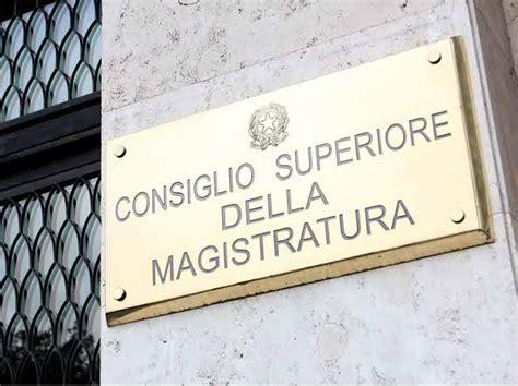 consiglio superiore della magistratura sede consiglio superiore della magistratura elezioni al via