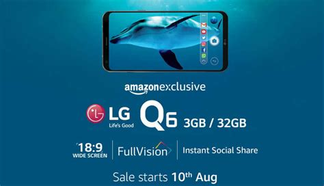 full vision display mobiles list lg q6 with 5 5 inch full vision display launching on