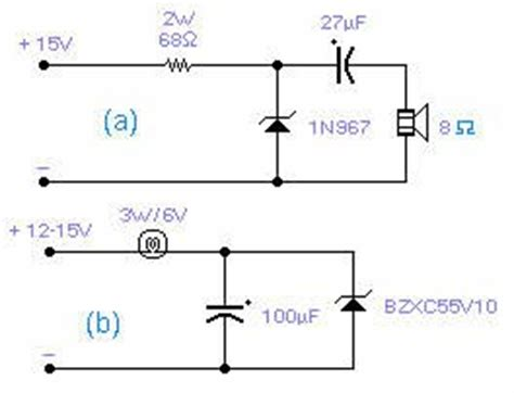 zener diodes ltspice the free information society zener oscillator electronic circuit schematic