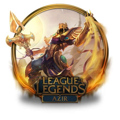 gold wallpaper lol azir icon league of legends gold border iconset fazie69