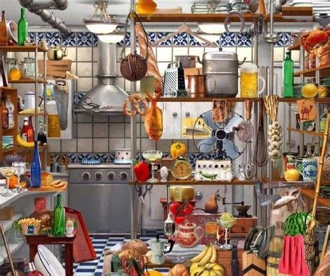 Kitchen Riddles by Find The Key In The Picture Given Above Puzzle Answer