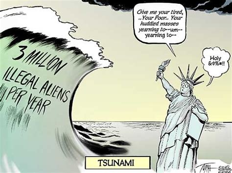 political cartoons on immigration how does immigration really affect the u s with image