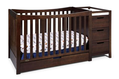 convertible crib with changing table graco remi crib and changing table