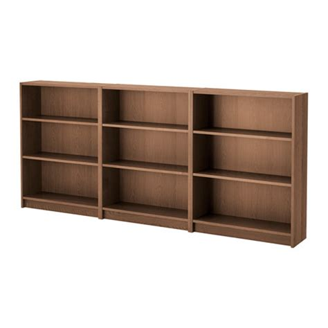 bookshelf picture 94 billy bookcase brown ash veneer 94 1 2x41 3 4x11 quot ikea