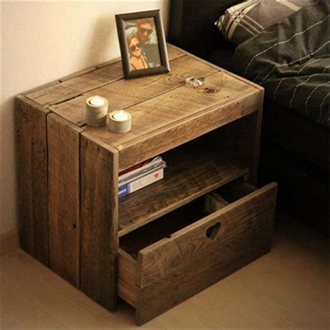 Pallet Side Table Diy Pallet Wood Side Table Plans Pallet Wood Projects