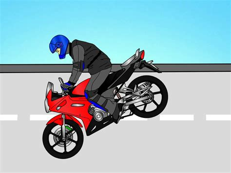 A Motorrad by How To Do A Stoppie On A Motorcycle 3 Steps With Pictures