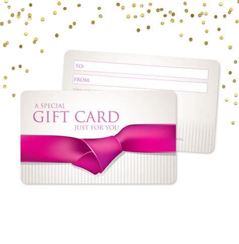 Gift Card Blanks - blank gift cards classic gift certificates