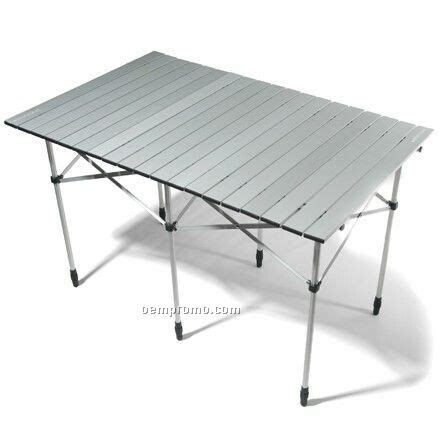 roll up table in a bag 6 person aluminum roll up table with carry bag china