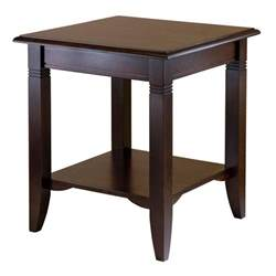 Wood End Tables Winsome Wood Nolan End Table Kitchen Dining
