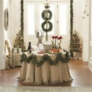 ballard designs christmas burlap bird ornaments set of 6