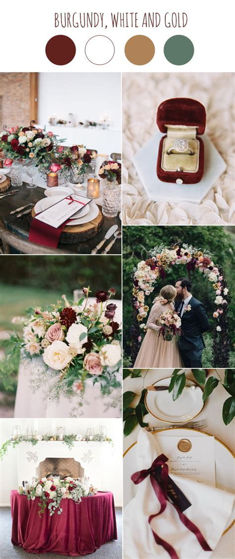 Burgundy Wedding Decorations   Wedding Ideas