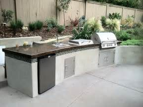 Outdoor Barbecue Kitchen Designs Kate Presents Modern Barbecue Island Outdoor Kitchen