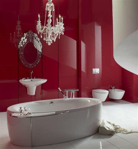 rote badezimmer ideen 40 erstaunliche badezimmer deko ideen
