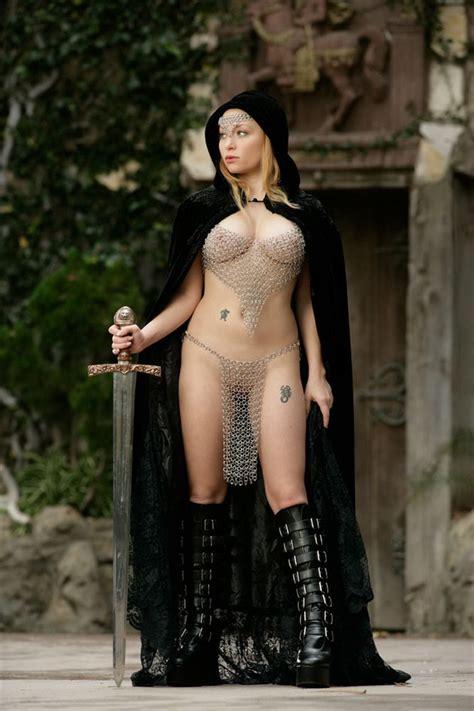 Naked Fantasy Babes Aiden Castle Guard Naked Naked
