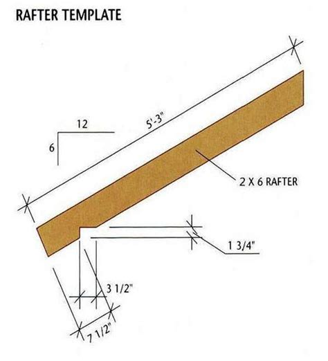 How To Build Rafters For A Shed by 8 215 12 Storage Shed Plans Blueprints For Building A Spacious Gable Shed