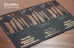 best restaurant business cards chef business card diomioprint