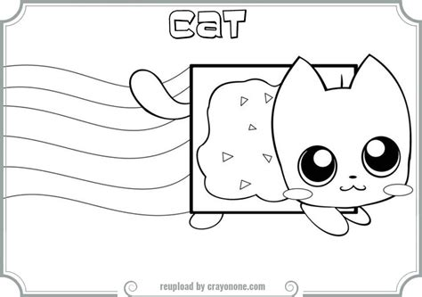 coloring page cat memes coloring pages