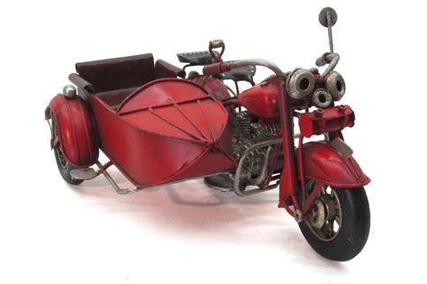 dekoratif metal motosiklet sepetli mnkhomecom